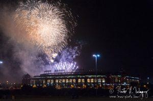 Fireworks at Globe Life Park - Arlington, TX